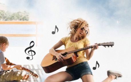 Víkendový kytarový kurz pro začátečníky aneb muzicírovnání počesku za bezkonkurenční cenu 1 914 kč! Cena zahrnuje 4 hodiny výuky denně + ubytování v komfortně zařízené chatě s velkou zahradou!
