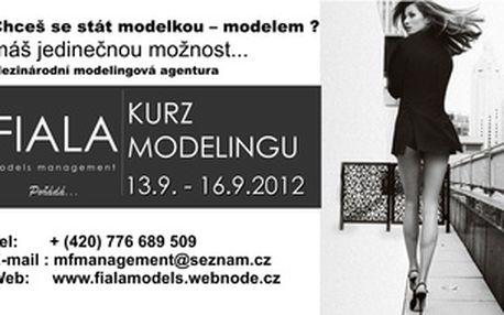 Čtyřdenní kurz modelingu