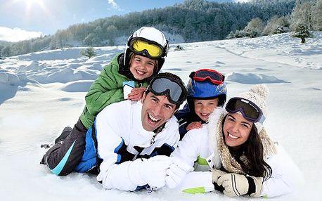 Lyžování v Peci pod Sněžkou pro 2 s polopenzí na 3 nebo 6 dní, šipky, stolní fotbal, bar, lyžárna a kolárna