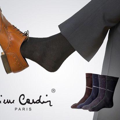 Kupte si 6 párů luxusních ponožek za neuvěřitelných 258 Kč! Dopřejte si novou podzimní garderobu a začněte se značkovými ponožkami Pierre Cardin, které nyní pořídíte s více než 50% slevou!