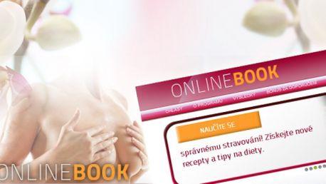 Speciálně pro ženy: ONLINE KNIHA plná rad a tipů jen za 99 Kč! Neztrácejte čas hledáním! Vše jednoduše na jednom místě! Zakupte přístup do knihy jako Vánoční dárek s 90% slevou.
