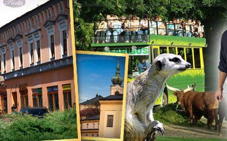 Trutnov - brána Krkonoš: stylové ubytování pro dvě osoby přímo v centru Trutnova s 41% slevou! 2, 3, nebo 5 nocí s polopenzí. Včetně internetu a parkování. Dítě do 4 let zdarma.
