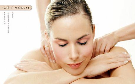 Relaxační masáž zad, šíje a další terapie