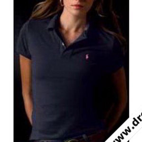 Dámské polo tričko Ralph Lauren tm.modré