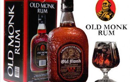 399 Kč za 7letou harmonickou směs třtinových rumů z Indie Old Monk! Plná chuť s vůní karamelu a vanilky.
