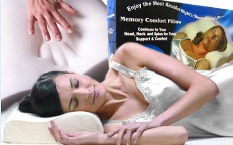 Polštář s paměťovou pěnou memory pillow jen za 219 Kč místo 800 Kč! A spánek bude dokonalý!