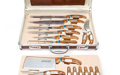 Sada 25 dílů nožů v alu-kufříku Bachmayr