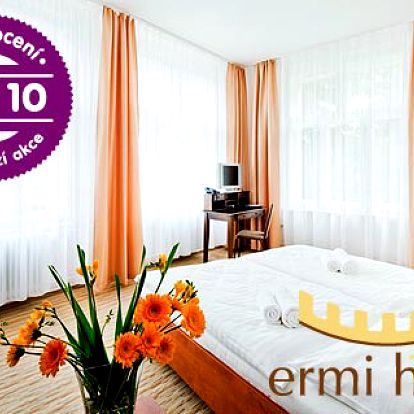 Relaxace v Ermi hotelu u Prahy s polopenzí