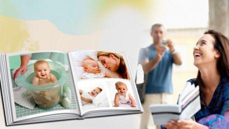 FOTOKNIHA s tvrdou vazbou formátu A4, 80 stran již za 499 Kč! Darujte svým blízkým jedinečný dárek ve formě fotoknihy naplněné Vašimi společnými fotografiemi!