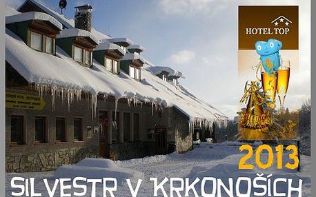54 % sleva na SILVESTROVSKÝ POBYT V KRKONOŠÍCH! 4 noci pro 10 osob s polopenzí, vínem, silvestrovským rautem za 19 688 Kč! Ten pravý Silvestr je vždy na horách! Benecko se pyšní 20 km značených běžeckých tratí, 10 lyžařskými vleky s večerním lyžováním a turisty uchvátí procházky zdejší přírodou.