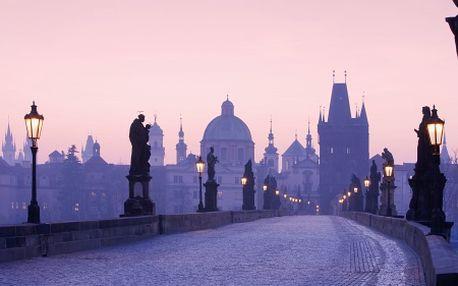 Praha pro DVA na 3 dny, 10 min. od centra