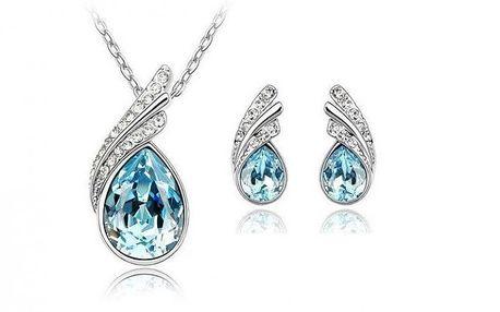 Luxusní set s krystaly Swarovski Elements Daemon Eye jen za 249 Kč! Buďte elagantní s luxusní slevou 75% a poštovné zdarma!