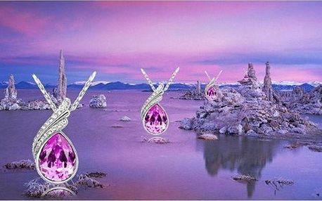 Luxusní řetízek Daemon Eye s krystaly Swarovski Elements ve 3 barvách jen za 169 Kč!!! Poštovné zdarma!