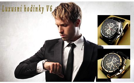 Luxusní hodinky V6
