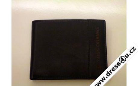 Super dárek! Pánská peněženka z pravé kůže Hugo Boss Wilster