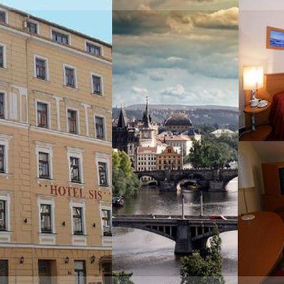 Gallery Hotel SIS***. Pobyt pro dvě osoby v centru Prahy v moderním hotelu na 1 nebo 2 noci se slevou až 50 %. V ceně je zahrnutá snídaně a 1x láhev vína! Využijte této příležitosti pro navštívení Vánoční Prahy a jejich jedinečných památek.