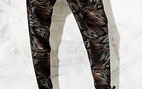 Stylové a pohodlné kalhoty v tureckém stylu – černá/hnědá & černá
