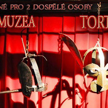 2x vstupenka pro 2 dospělé osoby do Muzea Tortury - středověkých mučicích nástrojů
