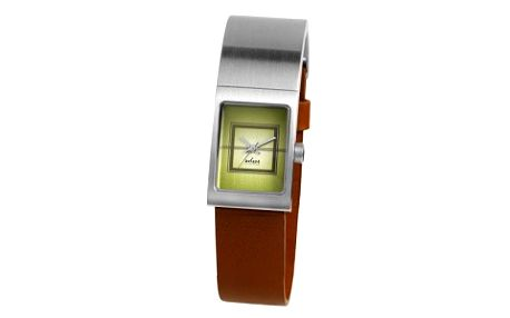 Axcent of Scandinavia Freja Green Dial/Brown X47002-456