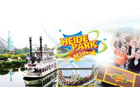 """Zájezd do Německého zábavního parku """"Heide Park"""" za pouhých 1 799 Kč! V ceně zahrnuta autobusová doprava, celodenní vstupné + veškeré atrakce a služby stewarda! Užijte si nekonečné množství zábavy se slevou 40%!"""