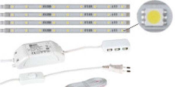 LED dekorační osvětlení - studená bílá. Osvětlení např. pod kuchyňskou linku nebo do interiéru