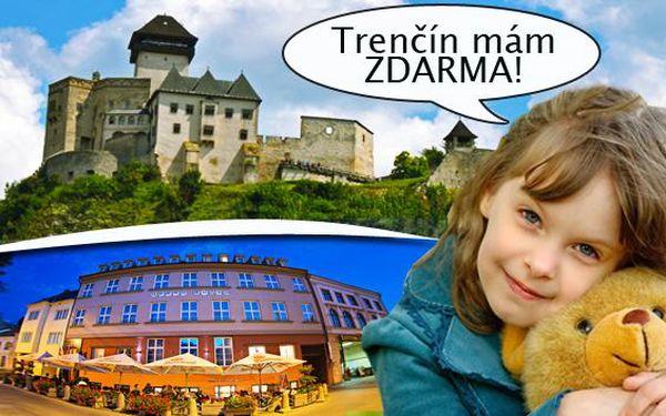 Grand hotel Trenčín s neobmedzeným wellness. Voľný vstup do whirpool, sauny a solária a fľaša sektu na izbe ako pozornosť. Ubytovanie v Grand Hoteli Trenčín s raňajkami pre 2 osoby a deti do 12 rokov ZDARMA!