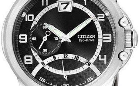 Luxusní pánské hodinky Citizen Eco-Drive Retrograde BR0116 12F. Nekompromisní mužnost a elegance.