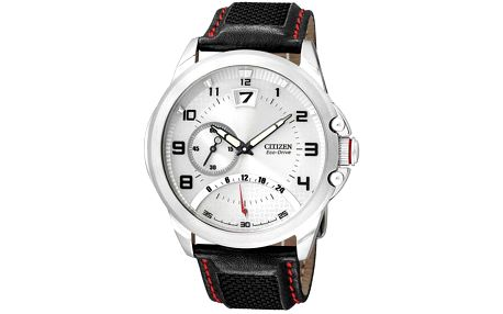 Elegance, luxus, sportovní duch. Citizen Eco-Drive Retrograde BR0116 04B. Pánské hodinky jako šperk.