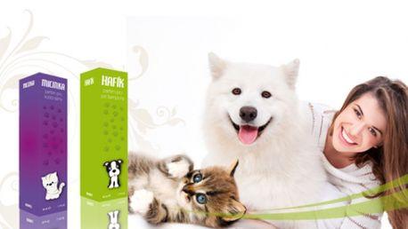 Máte doma kočičku nebo pejska? Tak máme právě pro Vaše mazlíčky parfém za úžasných 249 Kč! Parfémy Micinka a Hafík jsou určeny právě pro domácí mazlíčky! Sleva 38%!
