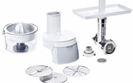 Kuchyňský robot BOSCH MUZ8MP1 pro MUM8400. Mlýnek na maso, krouhač, lis.