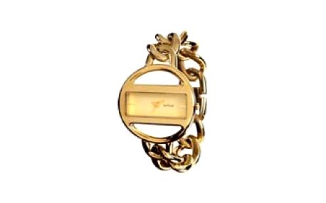 Unisex hodinky Jet Set St. Moritz. Minerální sklíčko. Kožený řemínek.