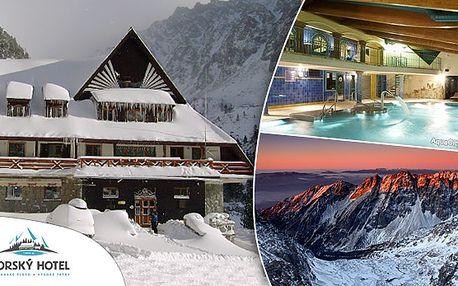 Pobyt s wellnessom priamo uprostred tatranskej prírody v Horskom hoteli* Popradské Pleso.