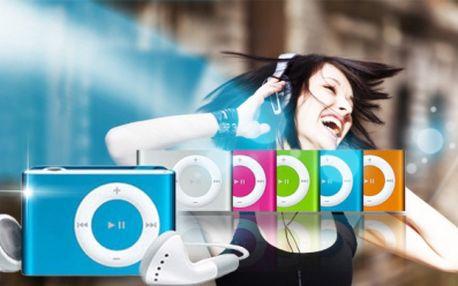 Stylový MP3 přehrávač včetně sluchátek a USB kabelu za jedinečných 119 Kč! Poslouchejte svoji oblíbenou hudbu kdekoli a kdykoli se slevou 70%!