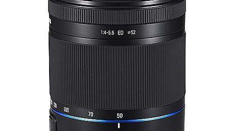 Objektiv pro Samsung řad NX, stabilizovaný objektiv 50-200mm (ekvivalent 77 - 308mm)