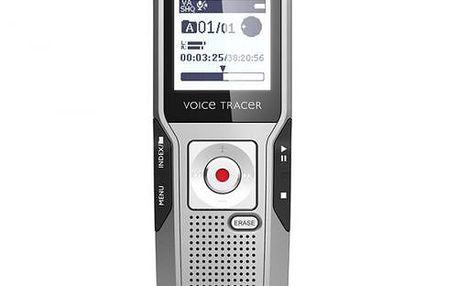 Diktafon PHILIPS Digital Voice Tracer 3000 pro přesný záznam konverzace. Vynikající kvalita zvuku!