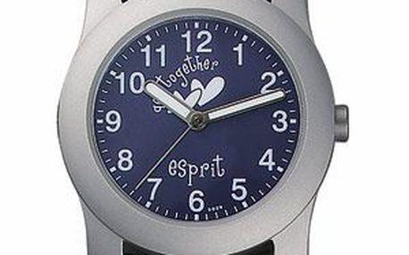 Dětské stylové hodinky s koženým řemínkem.