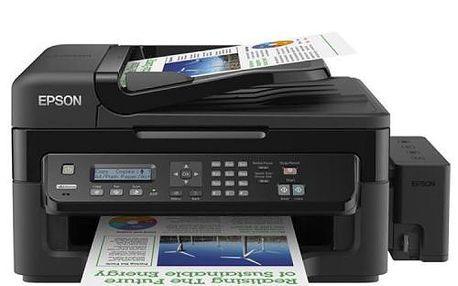 Inkoustová tiskárna multifunkční, A4 tiskárna/Epson L550. Kvalita a servis z Alza.cz!