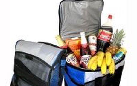 Chladící taška Brillant 12V 35l pro snadné přenášení pomocí popruhu. Ideální na piknik a kemping!
