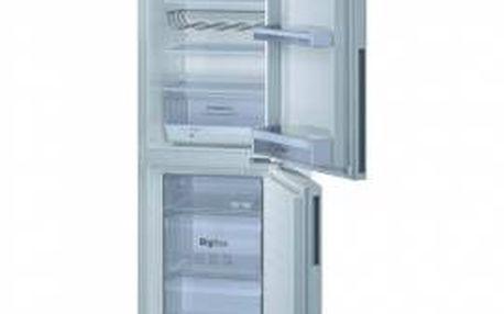 Kombinovaná chladnička BOSCH KGV33VW30 v bílém provedení.