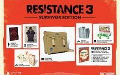 Hra Sony Resistance 3 Survivor Edition pro PS3. Válka proti rase Chimera pokračuje...