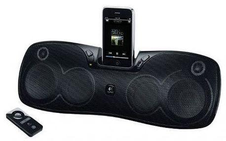 Dokovací reproduktor Logitech Speaker S 715i. Dokonalý zvuk kdekoliv jste.