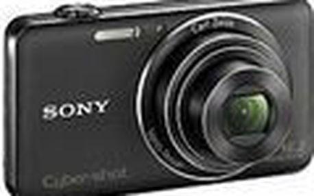 Fotoaparát Sony DSC-WX50 černý. 16,2 efektivního megapixelu díky snímači CMOS