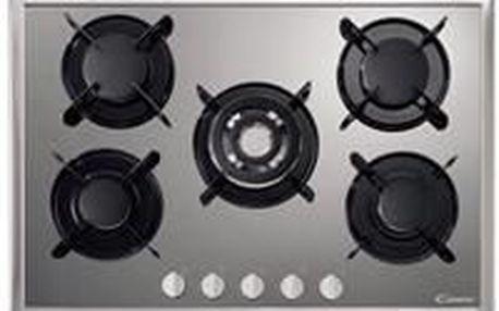 Varná plynová deska CANDY PV750SX nerez