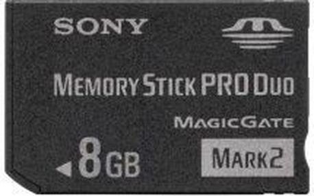 Paměťová karta Sony Memory Stick Pro DUO High Grade MSHX8B