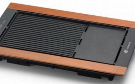 Stolní gril FAGOR BBC-850 je lehký, snadno přenosný