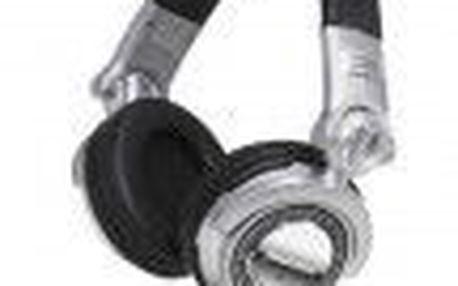 Sluchátka TECHNICS RP-DH1200E-S určená pro dokonalou reprodukci zejména taneční hudby.