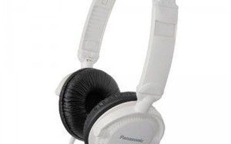 Sluchátka D.J. stylu Panasonic RP-DJ120E-W