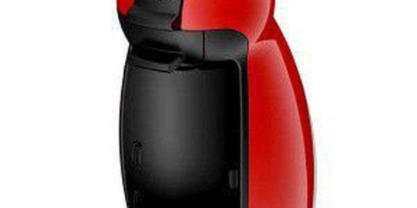 Stylové espresso pro menší kuchyně na výrobu teplých i studených nápojů. Kávovar Krups KP 1006 Dolce Gusto červený