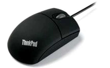 Optická myš LENOVO LEN OP Optical 3-Button Travel Wheel Mouse - 800dpi - PS/2 & USB