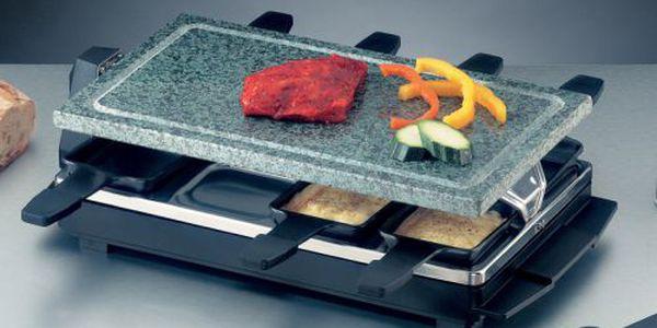 Multiraklet gril z kvalitního lávového kamene Rommelsbacher RCS 1207